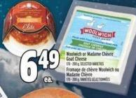 Woolwich Or Madame Chèvre Goat Cheese 170 - 200 G
