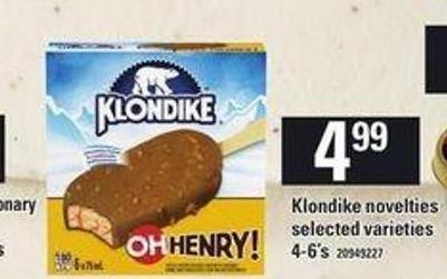 Klondike Novelties - 4-6's