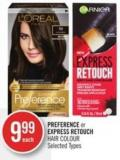 Preference or Express Retouch Hair Colour