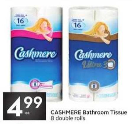 Cashmere Bathroom Tissue 8 Double Rolls