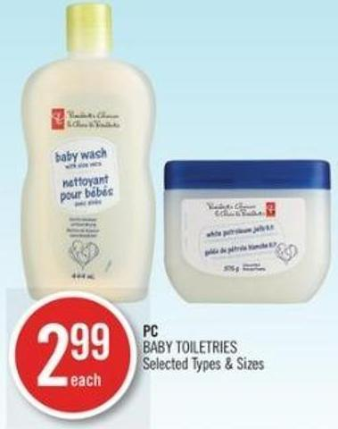 PC Baby Toiletries