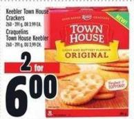 Keebler Town House Crackers