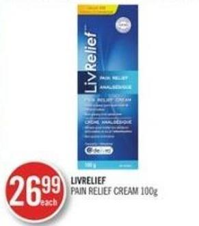 Livrelife Pain Relief Cream 100 g