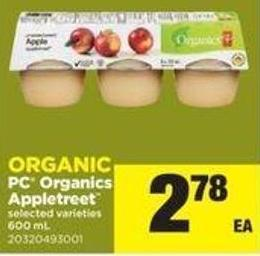 Organic PC Organics Appletreet - 600 Ml