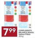 Compliments Balance Atlantic Salmon Fillets 454 g