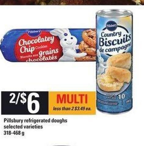 Pillsbury Refrigerated Doughs - 318-468 G