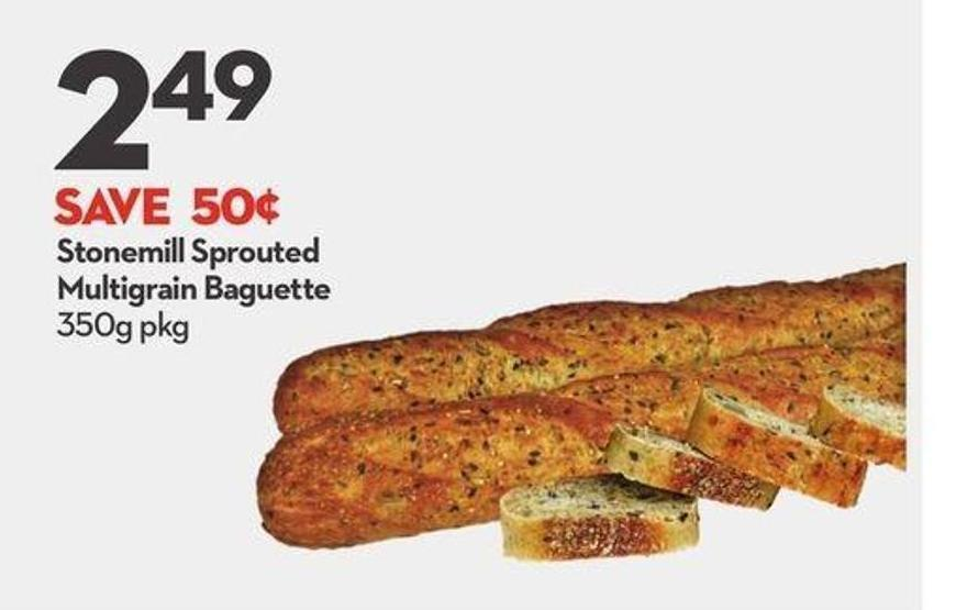 Stonemill Sprouted Multigrain Baguette