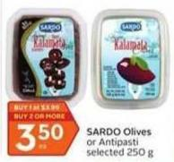 Sardo Olives or Antipasti Selected 250 g