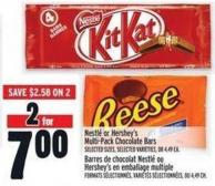 Nestlé Or Hershey's Multi-pack Chocolate Bars