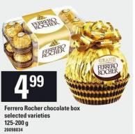 Ferrero Rocher Chocolate Box - 125-200 g