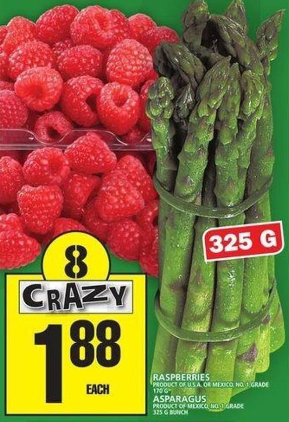 Raspberries Or Asparagus