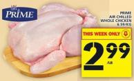 Maple Leaf Prime Air Chilled Whole Chicken