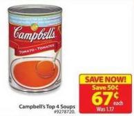 Campbell's Top 4 Soups