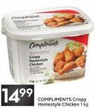 Compliments Crispy Homestyle Chicken