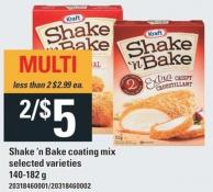 Kraft Shake 'N Bake Coating Mix - 140-182 G