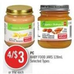 PC Baby Food Jars 128ml