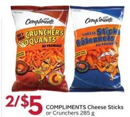 Compliments Cheese Sticks