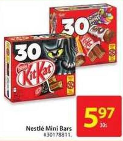 Nestle Mini Bars