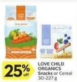 Love Child Organics Snacks