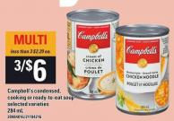 Campbell's Condensed - Cooking Or Ready-to-eat Soup - 284 mL