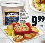 Aqua Star Pasteurized Blue Crab Meat