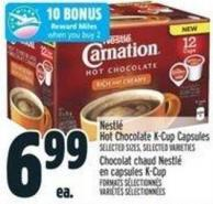 Nestlé Hot Chocolate K-cup Capsules