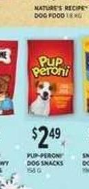 Pup-peroni Dog Snacks