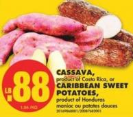 Cassava - Caribbean Sweet Potatoes