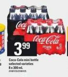 Coca-cola Mini Bottle - 8 X 300 mL