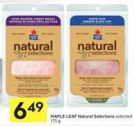 Maple Leaf Natural Selections Selected 175 g