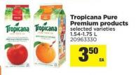 Tropicana Pure Premium Products - 1.54-1.75 L