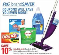 Selected Household Cleaning and Laundry Products