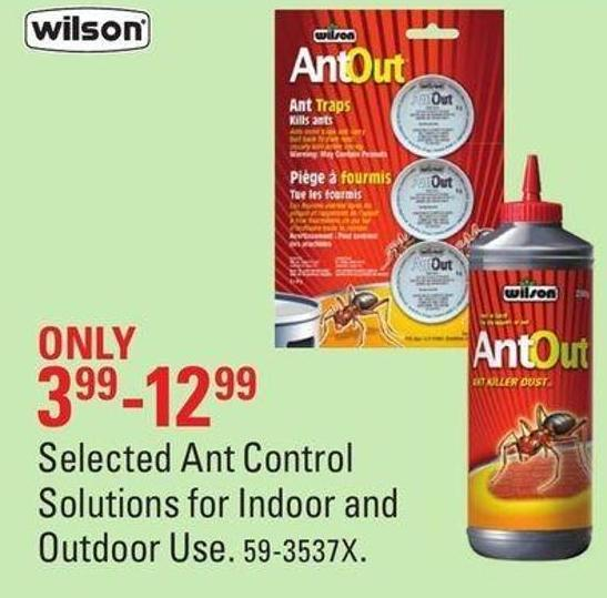Selected Ant Control Solutions For Indoor and Outdoor Use