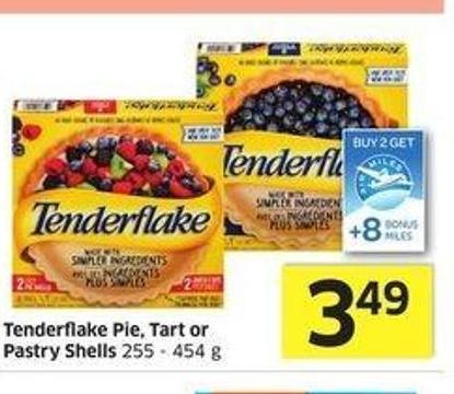 Tenderflake Pie - Tart or Pastry Shells 255 - 454 g