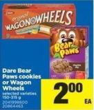 Dare Bear Paws Cookies Or Wagon Wheels - 150-315 g