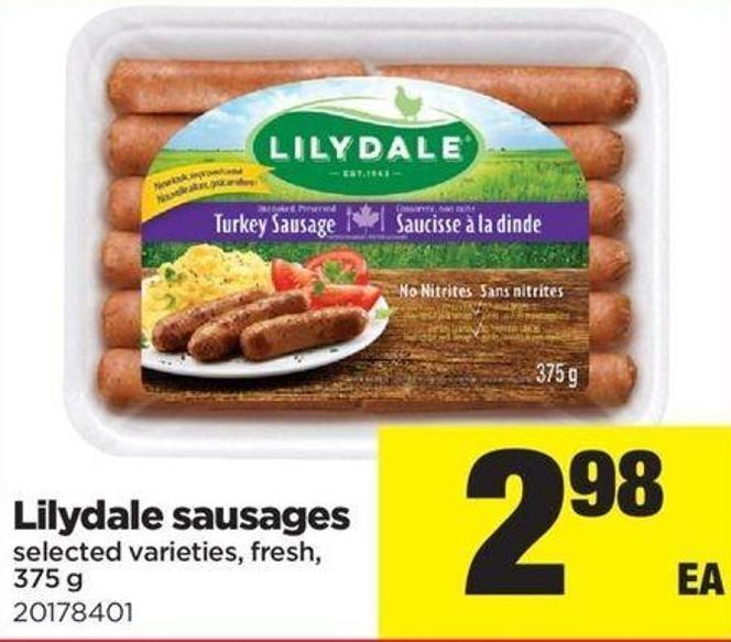Lilydale Sausages - 375 G