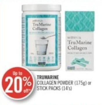 Trumarine Collagen Powder (175g) or Stick Packs (14's)