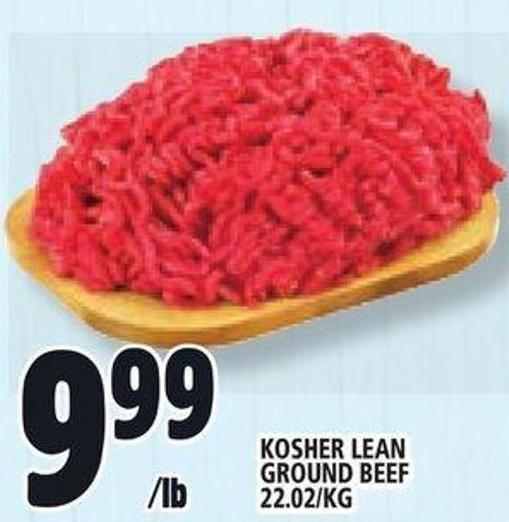 Kosher Lean Ground Beef