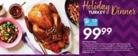 Holiday Dinner Turkey 50 Air Miles Bonus Miles
