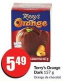 Terry's Orange Dark 157 g
