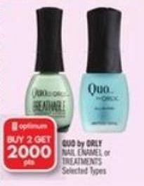 Quo By Orly Nail Enamel or Treatments