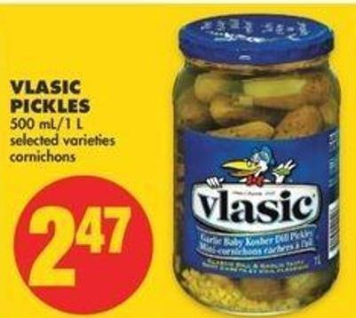 Vlasic Pickles - 500 Ml - 1 L