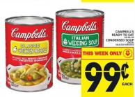 Campbell's Ready To Eat 540 Ml or Condensed Soup 284 Ml