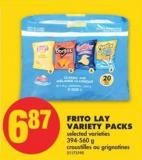 Frito Lay Variety Packs - 394-560 g