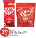 Nestlé Cello (135 g - 203 G) or Kit Kat (140 g - 170 G) Chocolate
