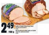 Cuddy Or Lilydale Turkey Breast Roast