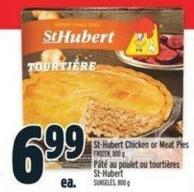 St-hubert Chicken Or Meat Pies