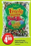 Imperial Fruity Minis Candy 750 g