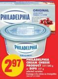 Philadelphia Cream Cheese Product 227/280 g or Dips 227 g