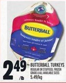 Butterball Turkeys